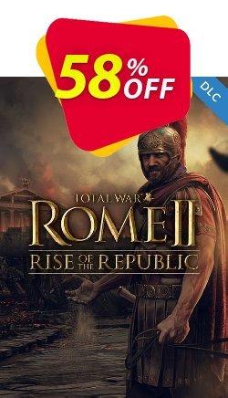 Total War ROME II 2 PC - Rise of the Republic DLC - EU  Coupon discount Total War ROME II 2 PC - Rise of the Republic DLC (EU) Deal - Total War ROME II 2 PC - Rise of the Republic DLC (EU) Exclusive offer for iVoicesoft