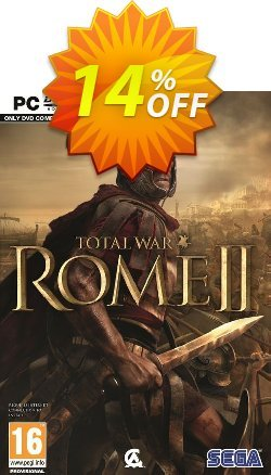 Total War Rome II 2 - PC  Coupon discount Total War Rome II 2 (PC) Deal. Promotion: Total War Rome II 2 (PC) Exclusive offer for iVoicesoft