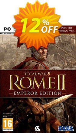 Total War: Rome II 2 - Emperor's Edition PC Coupon discount Total War: Rome II 2 - Emperor's Edition PC Deal - Total War: Rome II 2 - Emperor's Edition PC Exclusive offer for iVoicesoft