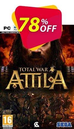 Total War: Attila PC Coupon discount Total War: Attila PC Deal - Total War: Attila PC Exclusive offer for iVoicesoft