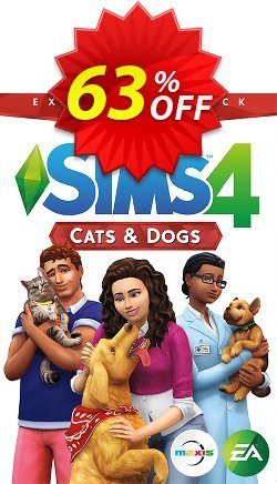 The Sims 4 - Cats and Dogs Expansion Pack PC/Mac Coupon discount The Sims 4 - Cats and Dogs Expansion Pack PC/Mac Deal - The Sims 4 - Cats and Dogs Expansion Pack PC/Mac Exclusive offer for iVoicesoft