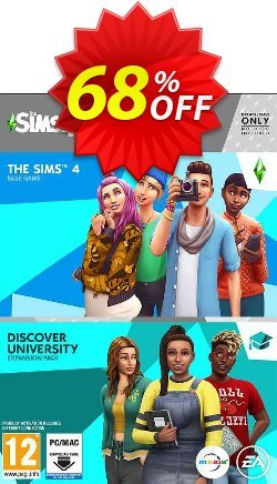 The Sims 4 + Discover University Bundle PC Coupon discount The Sims 4 + Discover University Bundle PC Deal - The Sims 4 + Discover University Bundle PC Exclusive offer for iVoicesoft