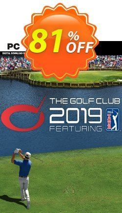 The Golf Club 2019 featuring PGA TOUR PC - EU  Coupon discount The Golf Club 2021 featuring PGA TOUR PC (EU) Deal. Promotion: The Golf Club 2021 featuring PGA TOUR PC (EU) Exclusive offer for iVoicesoft