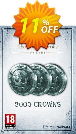 The Elder Scrolls Online Tamriel Unlimited 3000 Crown Pack PC Coupon discount The Elder Scrolls Online Tamriel Unlimited 3000 Crown Pack PC Deal - The Elder Scrolls Online Tamriel Unlimited 3000 Crown Pack PC Exclusive offer for iVoicesoft