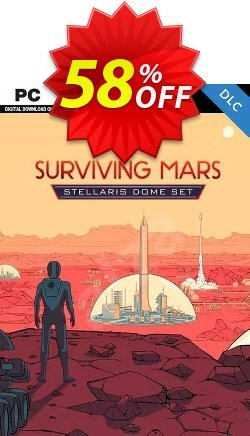 Surviving Mars Stellaris Dome Set PC DLC Coupon discount Surviving Mars Stellaris Dome Set PC DLC Deal - Surviving Mars Stellaris Dome Set PC DLC Exclusive offer for iVoicesoft