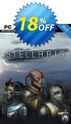 Stellaris PC - Humanoids Species Pack DLC Coupon discount Stellaris PC - Humanoids Species Pack DLC Deal - Stellaris PC - Humanoids Species Pack DLC Exclusive offer for iVoicesoft