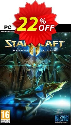 Starcraft II 2: Legacy of the Void - PC/Mac  Coupon discount Starcraft II 2: Legacy of the Void (PC/Mac) Deal - Starcraft II 2: Legacy of the Void (PC/Mac) Exclusive offer for iVoicesoft