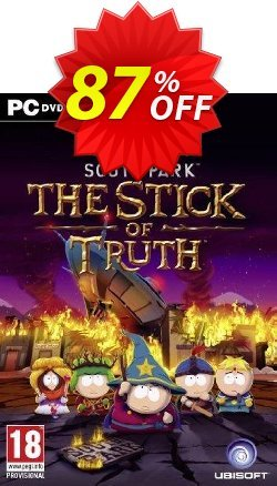South Park: The Stick of Truth PC Coupon discount South Park: The Stick of Truth PC Deal - South Park: The Stick of Truth PC Exclusive offer for iVoicesoft