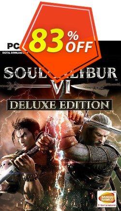 Soulcalibur VI 6 Deluxe Edition PC Coupon discount Soulcalibur VI 6 Deluxe Edition PC Deal - Soulcalibur VI 6 Deluxe Edition PC Exclusive offer for iVoicesoft