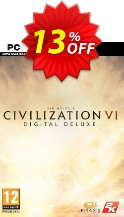 Sid Meier's Civilization VI 6 Digital Deluxe PC Coupon discount Sid Meier's Civilization VI 6 Digital Deluxe PC Deal - Sid Meier's Civilization VI 6 Digital Deluxe PC Exclusive offer for iVoicesoft