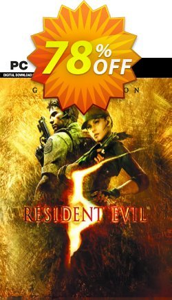 Resident Evil 5 Gold Edition PC Coupon discount Resident Evil 5 Gold Edition PC Deal - Resident Evil 5 Gold Edition PC Exclusive offer for iVoicesoft