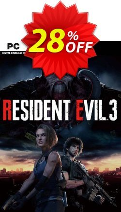 Resident Evil 3 PC Coupon discount Resident Evil 3 PC Deal - Resident Evil 3 PC Exclusive offer for iVoicesoft