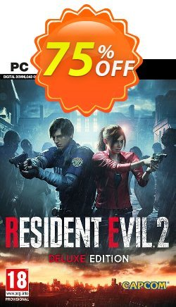 Resident Evil 2 / Biohazard RE2 Deluxe Edition PC Coupon discount Resident Evil 2 / Biohazard RE2 Deluxe Edition PC Deal - Resident Evil 2 / Biohazard RE2 Deluxe Edition PC Exclusive offer for iVoicesoft