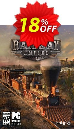 Railway Empire PC Coupon discount Railway Empire PC Deal - Railway Empire PC Exclusive offer for iVoicesoft
