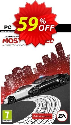 Need For Speed Most Wanted PC Coupon discount Need For Speed Most Wanted PC Deal. Promotion: Need For Speed Most Wanted PC Exclusive offer for iVoicesoft