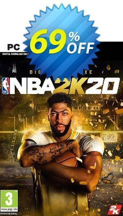 NBA 2K20 Deluxe Edition PC - US  Coupon discount NBA 2K20 Deluxe Edition PC (US) Deal - NBA 2K20 Deluxe Edition PC (US) Exclusive offer for iVoicesoft