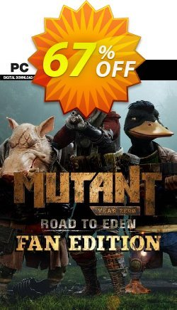 Mutant Year Zero: Road to Eden - Fan Edition PC Coupon discount Mutant Year Zero: Road to Eden - Fan Edition PC Deal - Mutant Year Zero: Road to Eden - Fan Edition PC Exclusive offer for iVoicesoft