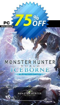 Monster Hunter World: Iceborne Master Edition PC Coupon discount Monster Hunter World: Iceborne Master Edition PC Deal - Monster Hunter World: Iceborne Master Edition PC Exclusive offer for iVoicesoft