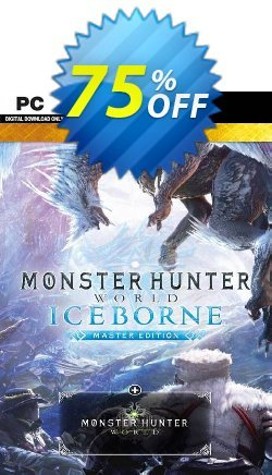 Monster Hunter World: Iceborne Master Edition Deluxe PC Coupon discount Monster Hunter World: Iceborne Master Edition Deluxe PC Deal - Monster Hunter World: Iceborne Master Edition Deluxe PC Exclusive offer for iVoicesoft