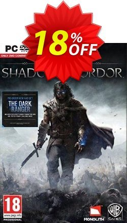 Middle-Earth: Shadow of Mordor PC Coupon discount Middle-Earth: Shadow of Mordor PC Deal - Middle-Earth: Shadow of Mordor PC Exclusive offer for iVoicesoft