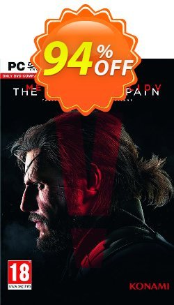 Metal Gear Solid V 5: The Phantom Pain PC Coupon discount Metal Gear Solid V 5: The Phantom Pain PC Deal - Metal Gear Solid V 5: The Phantom Pain PC Exclusive offer for iVoicesoft