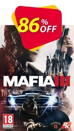 Mafia III 3 PC + DLC - Global  Coupon discount Mafia III 3 PC + DLC (Global) Deal - Mafia III 3 PC + DLC (Global) Exclusive offer for iVoicesoft