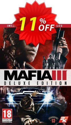 Mafia III 3 Deluxe Edition PC Coupon discount Mafia III 3 Deluxe Edition PC Deal - Mafia III 3 Deluxe Edition PC Exclusive offer for iVoicesoft