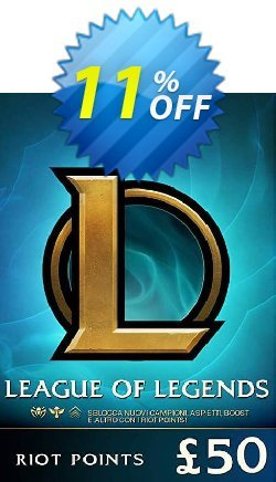 League of Legends 7920 Riot Points - EU - West  Coupon discount League of Legends 7920 Riot Points (EU - West) Deal - League of Legends 7920 Riot Points (EU - West) Exclusive offer for iVoicesoft