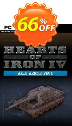 Hearts of Iron IV 4 PC: Axis Armor Pack DLC Coupon discount Hearts of Iron IV 4 PC: Axis Armor Pack DLC Deal - Hearts of Iron IV 4 PC: Axis Armor Pack DLC Exclusive offer for iVoicesoft
