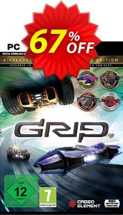 GRIP: Combat Racing - Rollers vs AirBlades Ultimate Edition PC Coupon discount GRIP: Combat Racing - Rollers vs AirBlades Ultimate Edition PC Deal - GRIP: Combat Racing - Rollers vs AirBlades Ultimate Edition PC Exclusive offer for iVoicesoft