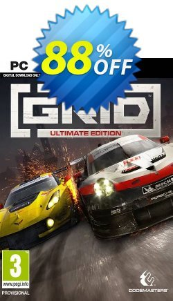 GRID: Ultimate Edition PC Coupon discount GRID: Ultimate Edition PC Deal - GRID: Ultimate Edition PC Exclusive offer for iVoicesoft