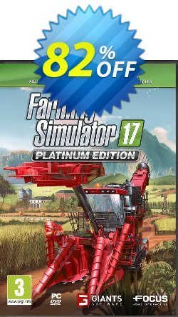 Farming Simulator 17 Platinum Edition PC Coupon discount Farming Simulator 17 Platinum Edition PC Deal - Farming Simulator 17 Platinum Edition PC Exclusive offer for iVoicesoft
