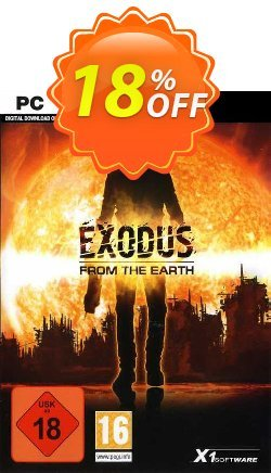 Exodus from the Earth PC Coupon discount Exodus from the Earth PC Deal. Promotion: Exodus from the Earth PC Exclusive offer for iVoicesoft