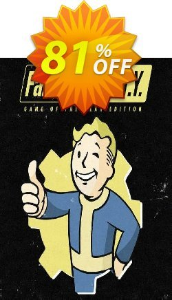 Fallout 4: Game of the Year Edition PC Coupon discount Fallout 4: Game of the Year Edition PC Deal - Fallout 4: Game of the Year Edition PC Exclusive offer for iVoicesoft