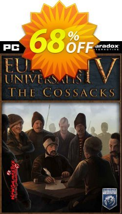 Europa Universalis IV 4 PC Cossacks DLC Coupon discount Europa Universalis IV 4 PC Cossacks DLC Deal - Europa Universalis IV 4 PC Cossacks DLC Exclusive offer for iVoicesoft