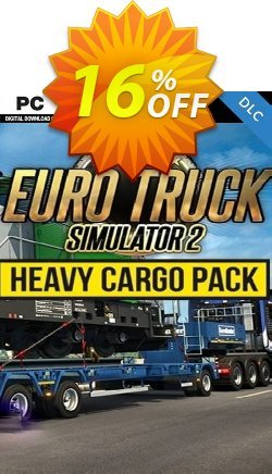 Euro Truck Simulator 2 - Heavy Cargo Pack PC Coupon discount Euro Truck Simulator 2 - Heavy Cargo Pack PC Deal - Euro Truck Simulator 2 - Heavy Cargo Pack PC Exclusive offer for iVoicesoft