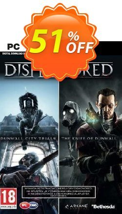 Dishonored PC DLC Double Pack Dunwall City Trials and The Knife of Dunwall Coupon discount Dishonored PC DLC Double Pack Dunwall City Trials and The Knife of Dunwall Deal - Dishonored PC DLC Double Pack Dunwall City Trials and The Knife of Dunwall Exclusive offer for iVoicesoft