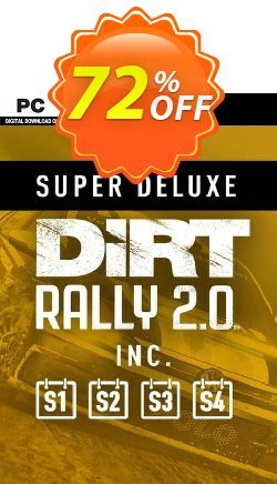 Dirt Rally 2.0 - Super Deluxe Edition PC Coupon discount Dirt Rally 2.0 - Super Deluxe Edition PC Deal - Dirt Rally 2.0 - Super Deluxe Edition PC Exclusive offer for iVoicesoft
