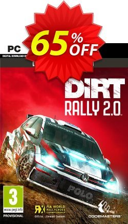 DiRT Rally 2.0 Deluxe Edition PC Coupon discount DiRT Rally 2.0 Deluxe Edition PC Deal - DiRT Rally 2.0 Deluxe Edition PC Exclusive offer for iVoicesoft