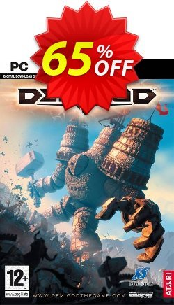 Demigod PC Coupon discount Demigod PC Deal - Demigod PC Exclusive offer for iVoicesoft