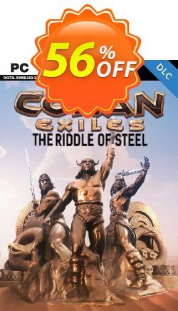 Conan Exiles - The Riddle of Steel DLC Coupon discount Conan Exiles - The Riddle of Steel DLC Deal - Conan Exiles - The Riddle of Steel DLC Exclusive offer for iVoicesoft