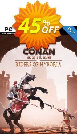 Conan Exiles - Riders of Hyboria Pack DLC Coupon discount Conan Exiles - Riders of Hyboria Pack DLC Deal - Conan Exiles - Riders of Hyboria Pack DLC Exclusive offer for iVoicesoft