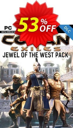 Conan Exiles PC - Jewel of the West Pack DLC Coupon discount Conan Exiles PC - Jewel of the West Pack DLC Deal - Conan Exiles PC - Jewel of the West Pack DLC Exclusive offer for iVoicesoft