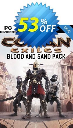 Conan Exiles - Blood and Sand Pack DLC Coupon discount Conan Exiles - Blood and Sand Pack DLC Deal - Conan Exiles - Blood and Sand Pack DLC Exclusive offer for iVoicesoft