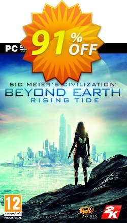 Civilization Beyond Earth: Rising Tide PC Coupon discount Civilization Beyond Earth: Rising Tide PC Deal. Promotion: Civilization Beyond Earth: Rising Tide PC Exclusive offer for iVoicesoft