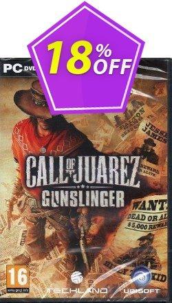 Call of Juarez: Gunslinger PC Coupon discount Call of Juarez: Gunslinger PC Deal. Promotion: Call of Juarez: Gunslinger PC Exclusive offer for iVoicesoft