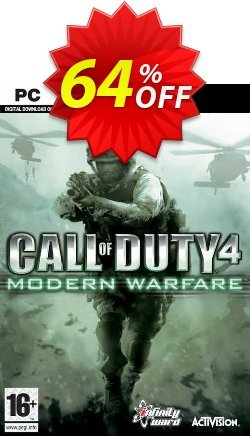 Call of Duty 4 - COD : Modern Warfare PC Coupon discount Call of Duty 4 (COD): Modern Warfare PC Deal - Call of Duty 4 (COD): Modern Warfare PC Exclusive offer for iVoicesoft