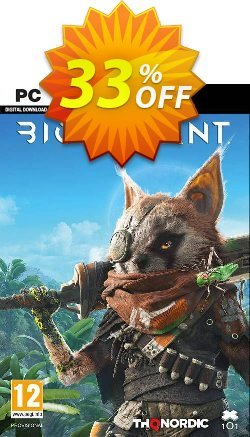 Biomutant PC Coupon discount Biomutant PC Deal - Biomutant PC Exclusive offer for iVoicesoft
