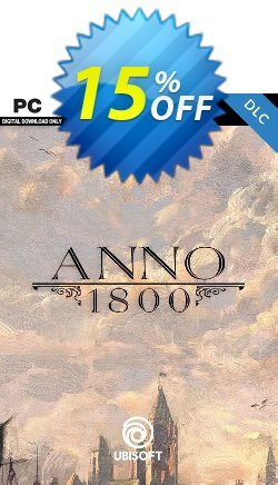 Anno 1800 DLC PC Coupon discount Anno 1800 DLC PC Deal. Promotion: Anno 1800 DLC PC Exclusive offer for iVoicesoft