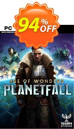 Age of Wonders Planetfall PC + DLC Coupon discount Age of Wonders Planetfall PC + DLC Deal - Age of Wonders Planetfall PC + DLC Exclusive offer for iVoicesoft